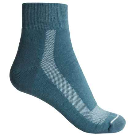 Fox River 59 Outdoor Socks - Merino Wool, Quarter Crew (For Women) in Blue - Closeouts