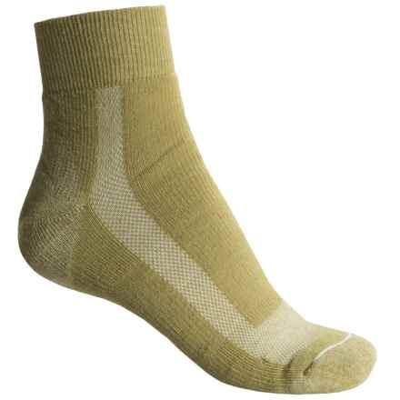 Fox River 59 Outdoor Socks - Quarter Crew (For Women) in Cedar - Closeouts