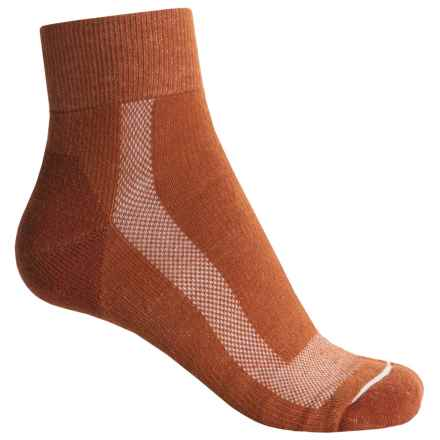 Fox River 59 Outdoor Socks - Quarter Crew (For Women) in Ginger - Closeouts