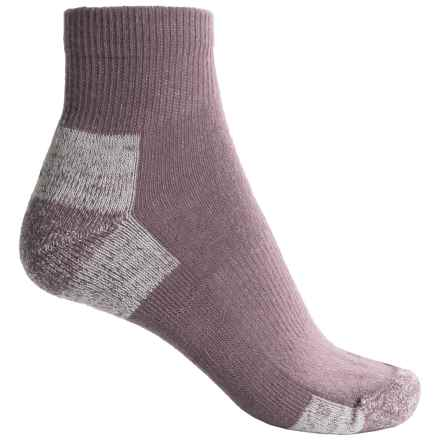 Fox River 67 Outdoor Socks - Quarter Crew (For Women) in Flint - Closeouts