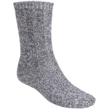 Fox River All-Around Classic Socks - Midweight, Crew (For Men and Women) in Natural/Charcoal - Closeouts