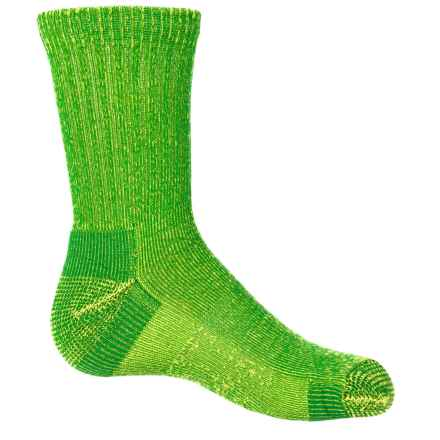 Fox River Apex Jr. Hiking Socks - Crew (For Little and Big Kids) in Lime - Closeouts