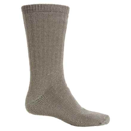 Fox River Backpacker II Socks - Merino Wool Blend, Mid Calf (For Men and Women) in Basil - Overstock