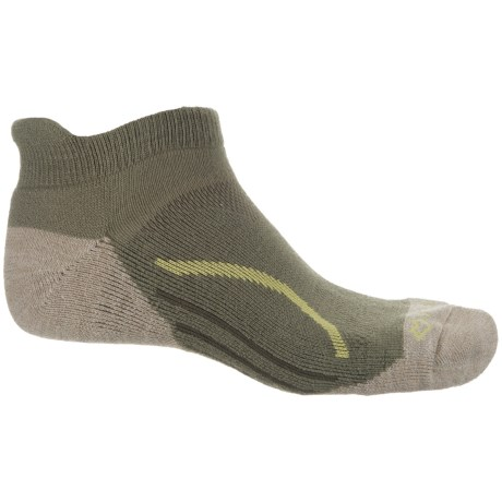 Fox River Basecamp Heel Tab Socks - Ankle (For Men and Women) in Moss