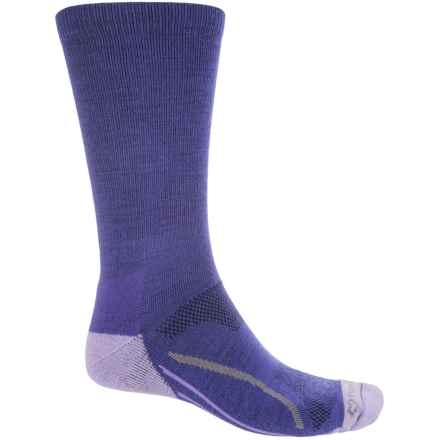 Fox River Basecamp Socks - Crew (For Men and Women) in Blue - Closeouts