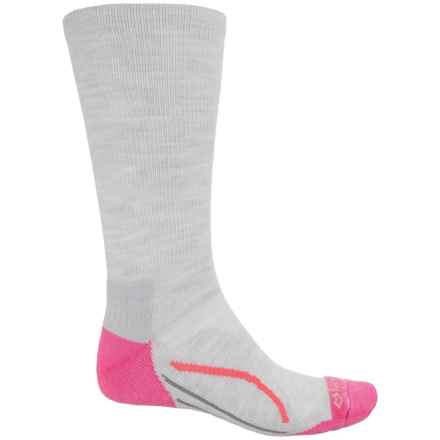 Fox River Basecamp Socks - Crew (For Men and Women) in Raspberry - Closeouts
