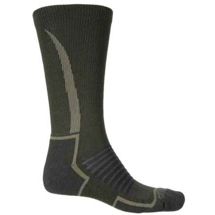 Fox River Basecamp Socks - Crew (For Men) in Olive - Closeouts