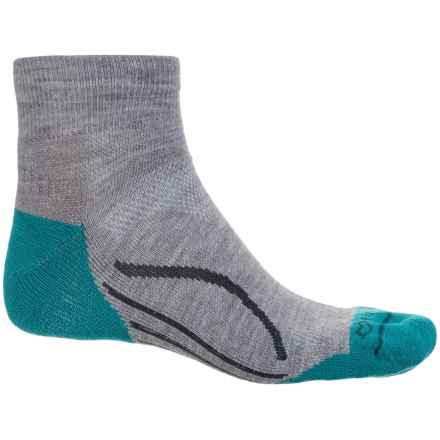 Fox River Basecamp Socks - Quarter Crew (For Men and Women) in Grey - Closeouts