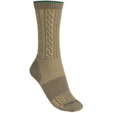 Fox River Cable Socks - Crew (For Women) in Basil - Closeouts