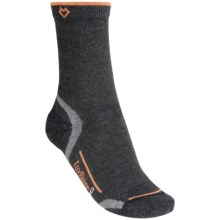 Fox River Cirrus Crew Socks - Merino Wool-PrimaLoft® (For Women) in Charcoal - Closeouts