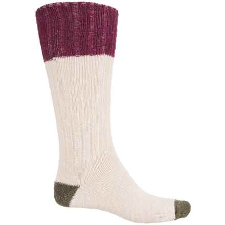 Fox River Classic Ragg Socks - Crew (For Women) in Cream Block - Closeouts