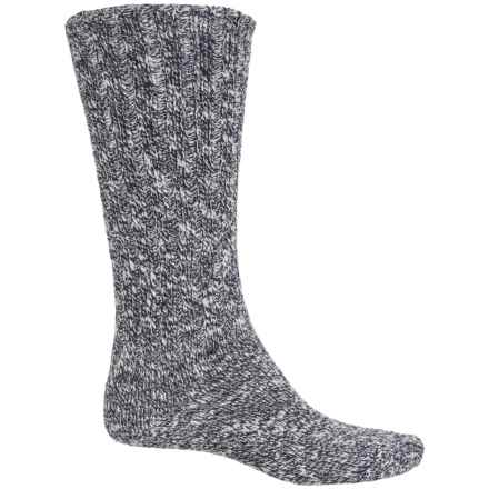 Fox River Classic Ragg Socks - Crew (For Women) in Darkest Navy - Closeouts