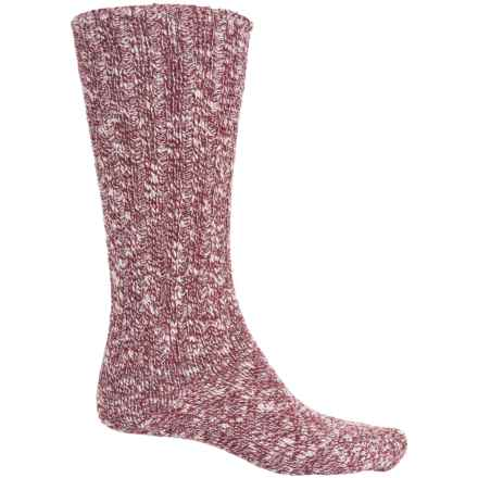 Fox River Classic Ragg Socks - Crew (For Women) in Deep Wine - Closeouts