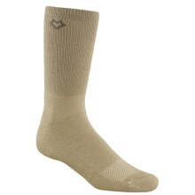 Fox River CoolMax® Socks - Crew (For Men and Women) in Khaki - Closeouts