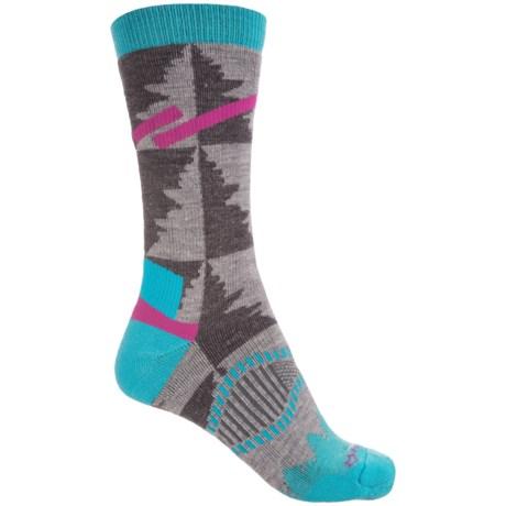 Fox River Cypress Socks - Crew (For Women) in Grey