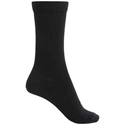 Fox River Dress Socks - Merino Wool, Crew (For Women) in Black - Closeouts