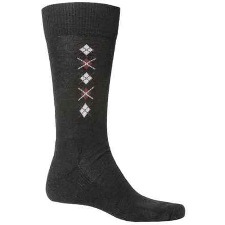 Fox River Everyday Merino Wool Socks - Crew (For Men) in Black - Closeouts