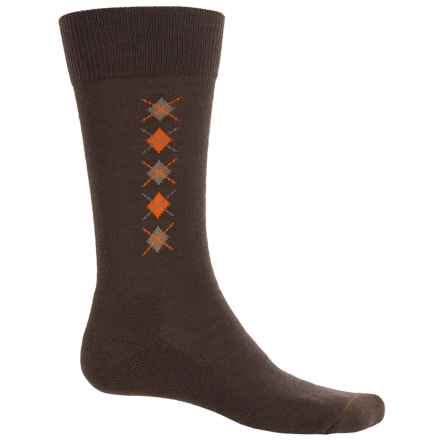 Fox River Everyday Merino Wool Socks - Crew (For Men) in Chestnut - Closeouts