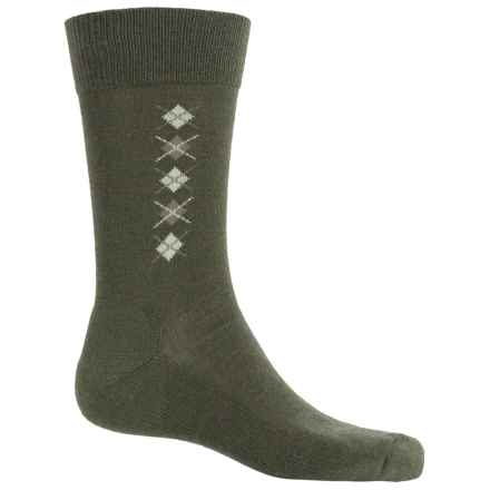 Fox River Everyday Merino Wool Socks - Crew (For Men) in Moss - Closeouts