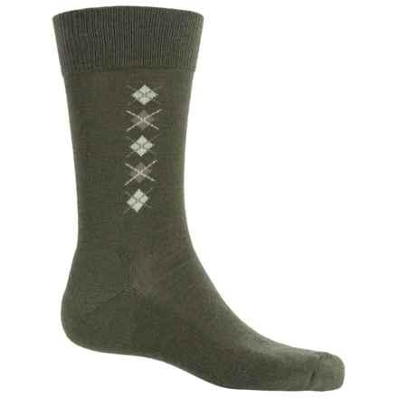 Fox River Everyday Merino Wool Socks - Crew (For Men) in Moss - Closeouts