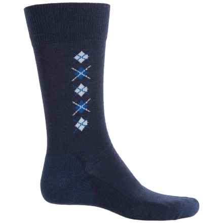 Fox River Everyday Merino Wool Socks - Crew (For Men) in Navy - Closeouts