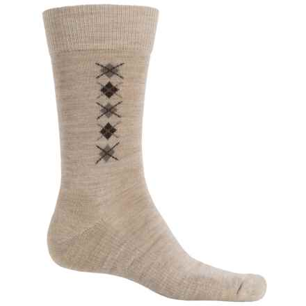 Fox River Everyday Merino Wool Socks - Crew (For Men) in Oatmeal - Closeouts