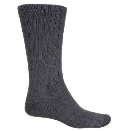 Fox River Full-Cushion Heavyweight Socks - Crew (For Men) in Black - Closeouts