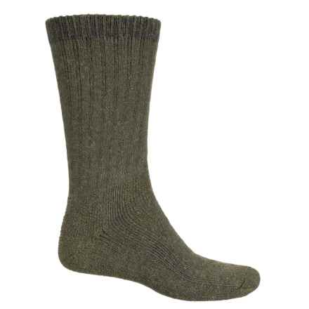 Fox River Full-Cushion Heavyweight Socks - Crew (For Men) in Olive - Closeouts