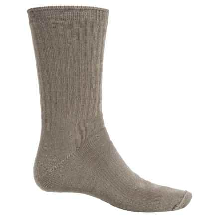 Fox River Full-Cushion Socks - Merino Wool Blend, Crew (For Men and Women) in Basil - Overstock