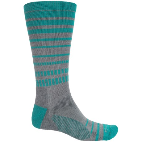 Fox River Harding Hiking Socks - Merino Wool, Crew ( For Men) in Charcoal