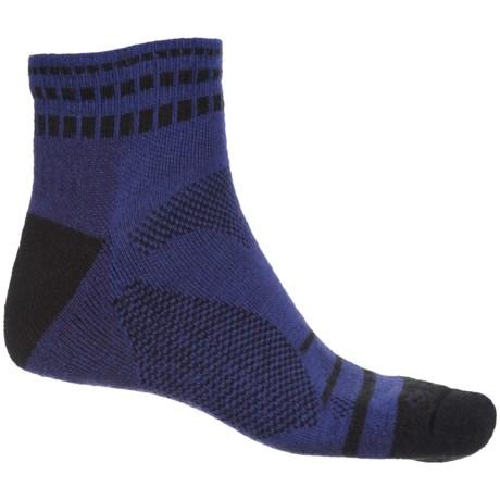 Fox River Harding Socks - Quarter Crew (For Men and Women) in Blue