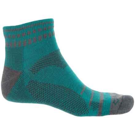Fox River Harding Socks - Quarter Crew (For Men and Women) in Lyons Blue - Closeouts