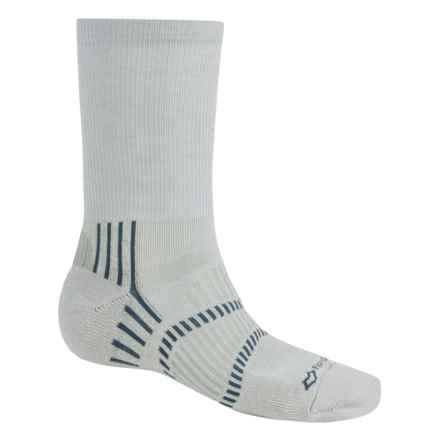 Fox River Light Socks - PrimaLoft®-Merino Wool, Crew (For Men and Women) in 07240 Spackle Grey - Closeouts
