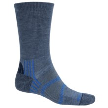 Fox River Light Socks - PrimaLoft®-Merino Wool, Crew (For Men and Women) in Indigo/Skydriver Blue - Closeouts