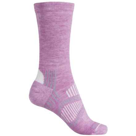 Fox River Light Socks - PrimaLoft®-Merino Wool, Crew (For Men and Women) in Lilac - Closeouts