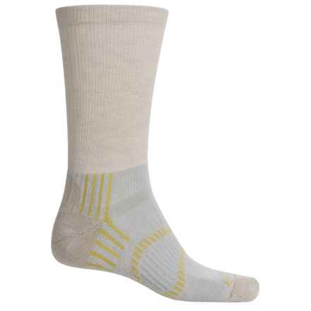 Fox River Light Socks - PrimaLoft®-Merino Wool, Crew (For Men and Women) in Oatmeal - Closeouts