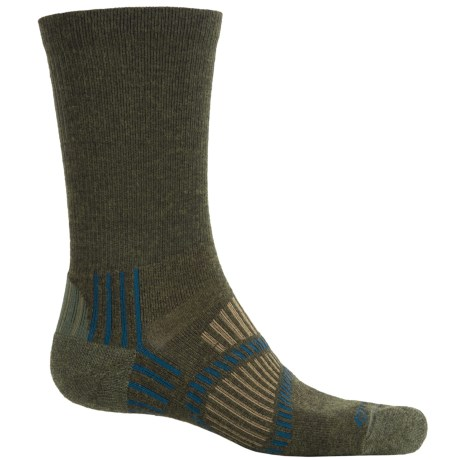 Fox River Light Socks - PrimaLoft®-Merino Wool, Crew (For Men and Women) in Olive