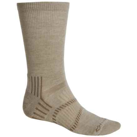 Fox River Light Socks - PrimaLoft®-Merino Wool, Crew (For Men and Women) in Rope - Closeouts