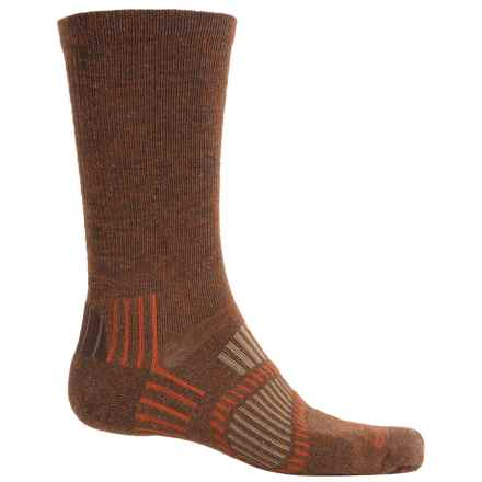 Fox River Light Socks - PrimaLoft®-Merino Wool, Crew (For Men and Women) in Terra - Closeouts