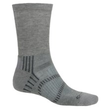 Fox River Light Socks - PrimaLoft®-Merino Wool, Crew (For Men and Women) in Vapor Grey/Charcoal - Closeouts