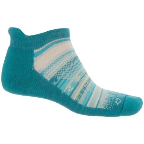 Fox River Mariposa Heel Tab Socks - Ankle (For Men and Women) in Lyons Blue