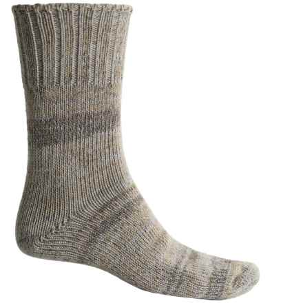 Fox River Midweight CoolMax® Socks - Merino Wool Blend, Crew (For Men) in Khaki - Closeouts