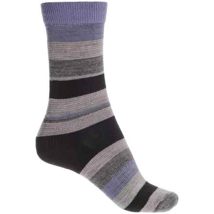 Fox River Modern Day Socks - Merino Wool Blend, Crew (For Women) in Black - Closeouts