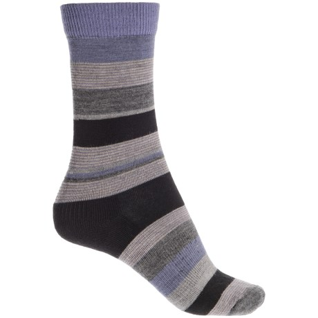 Fox River Modern Day Socks - Merino Wool Blend, Crew (For Women) in Black