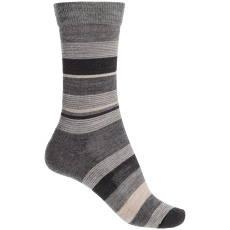 Fox River Modern Day Socks - Merino Wool Blend, Crew (For Women) in Grey