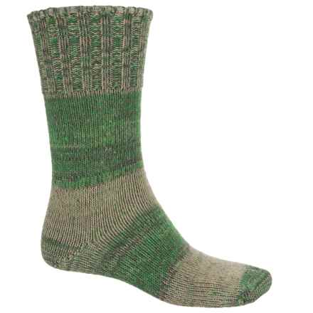 Fox River New American Ragg Socks - Merino Wool Blend, Crew (For Men and Women) in Khaki - 2nds