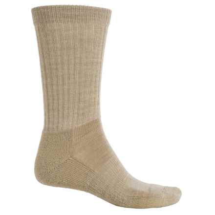 Fox River New Zealand Socks - Merino Wool Blend, Crew (For Men and Women) in Dune - Overstock