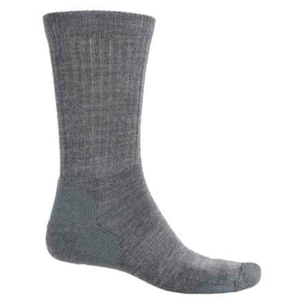 Fox River New Zealand Socks - Merino Wool Blend, Crew (For Men and Women) in Grey - Overstock
