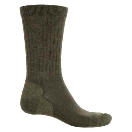 Fox River New Zealand Socks - Merino Wool Blend, Crew (For Men and Women) in Loden - Overstock
