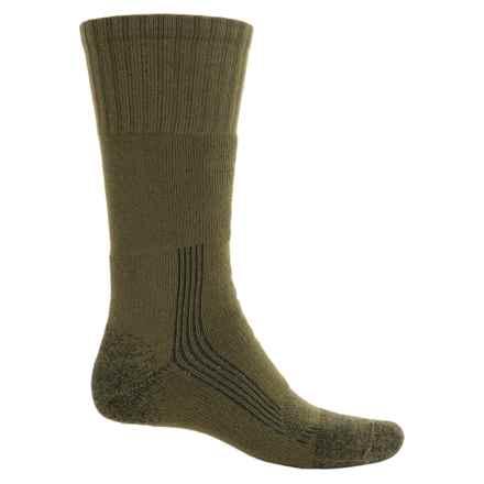 Fox River Outdoor Boot Socks - Mid Calf (For Men and Women) in Green - Overstock